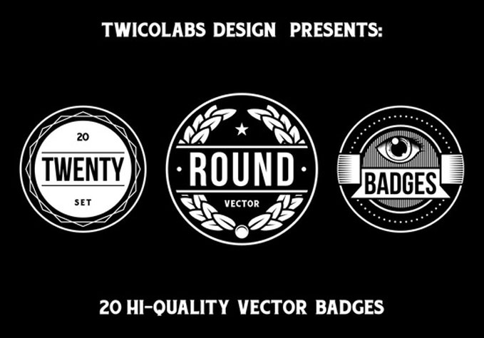 20-Round-Badges1 Best sellers Fonts And Graphics