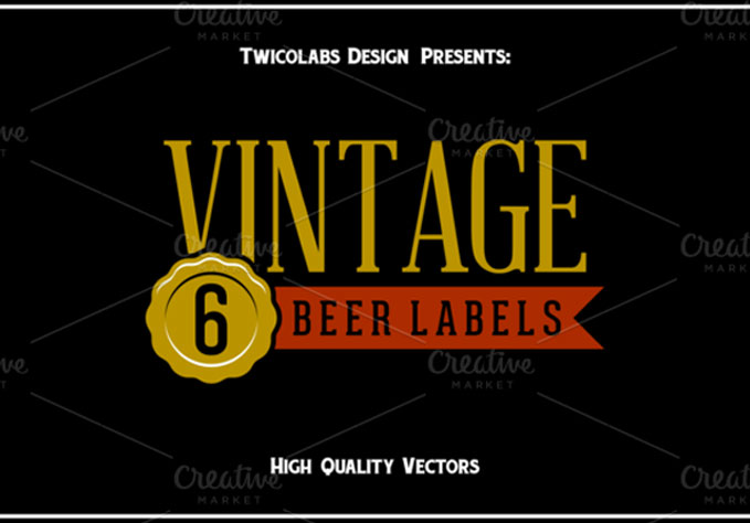6-Beer-Label1 Best sellers Fonts And Graphics