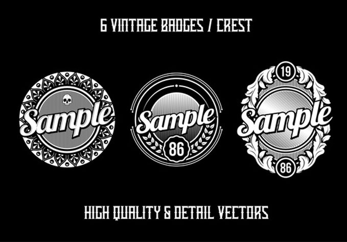 6-Vintage-Badges2 Best sellers Fonts And Graphics