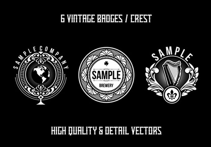 6-Vintage-Badges3 Best sellers Fonts And Graphics