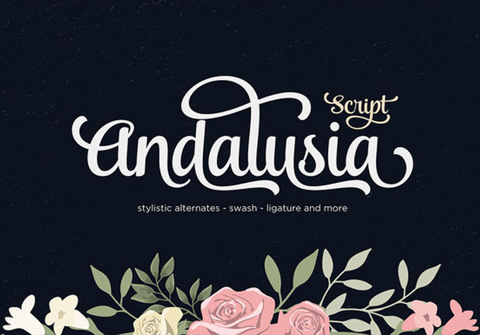 Andalusia-Script1 Best sellers Fonts And Graphics