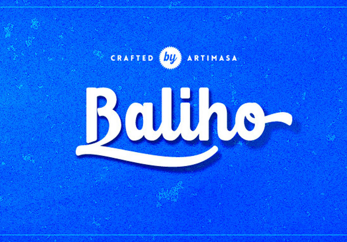 Baliho-Script1 Best sellers Fonts And Graphics