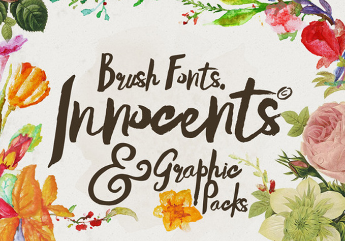 Innocents-fonts1 Best sellers Fonts And Graphics