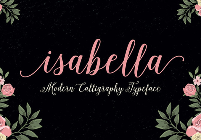 Isabella1 Best sellers Fonts And Graphics