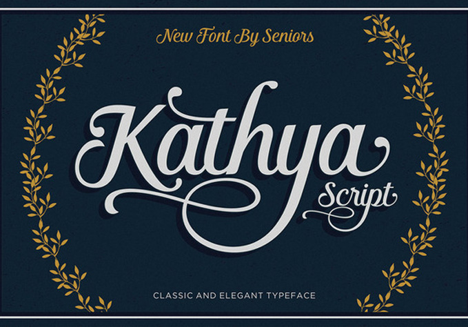 Kathya-Script1 Best sellers Fonts And Graphics