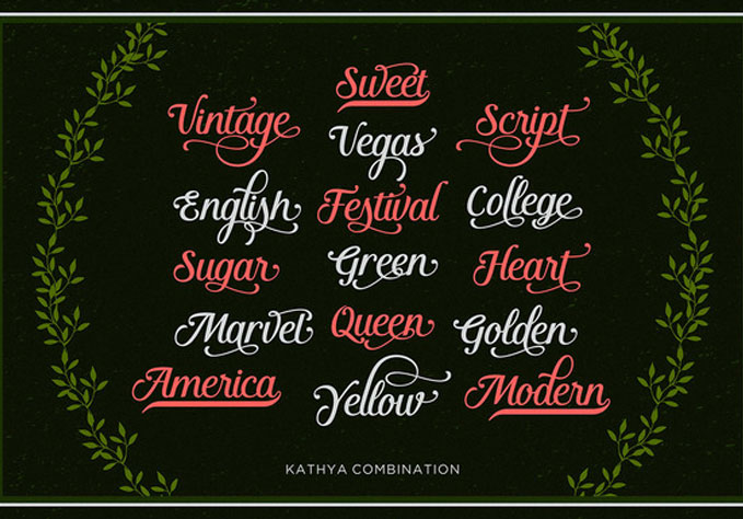 Kathya-Script2 Best sellers Fonts And Graphics