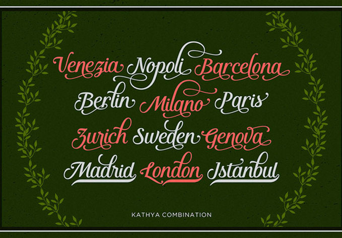 Kathya-Script4 Best sellers Fonts And Graphics