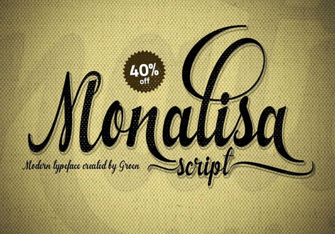 Monalisa1 Best sellers Fonts And Graphics