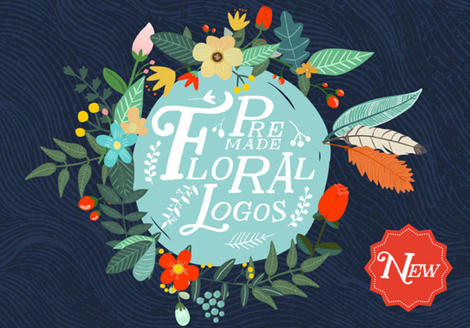 Premade-Floral1 Best sellers Fonts And Graphics