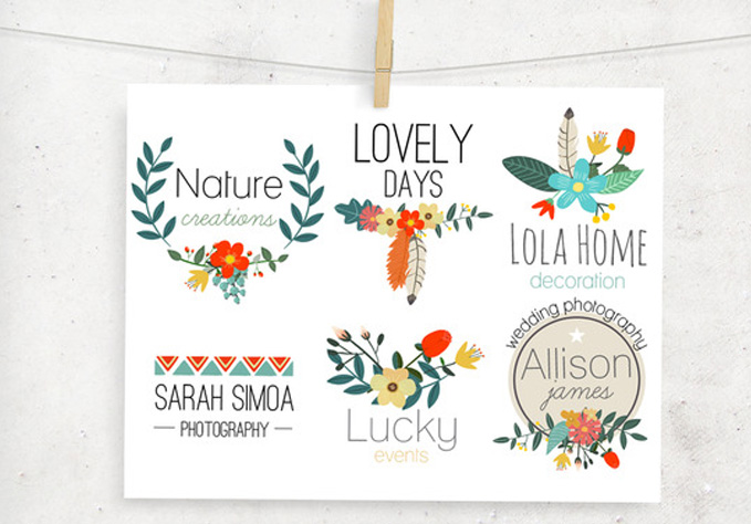 Premade-Floral3 Best sellers Fonts And Graphics