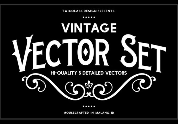 Vintage-Vector1 Best sellers Fonts And Graphics